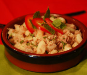 Ensalada de judías (fazolový salát)