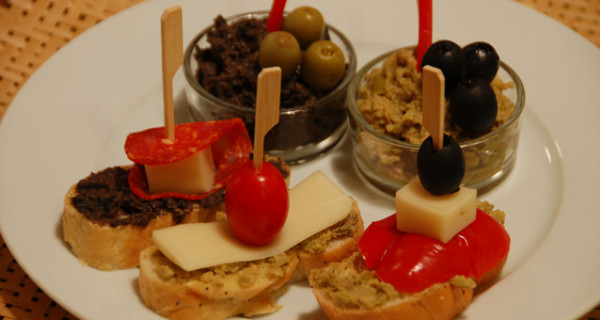 Tapenada de aceitunas (olivová tapenáda)
